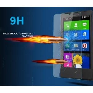 Ультратонкое износоустойчивое сколостойкое олеофобное защитное стекло-пленка для Nokia Lumia 525