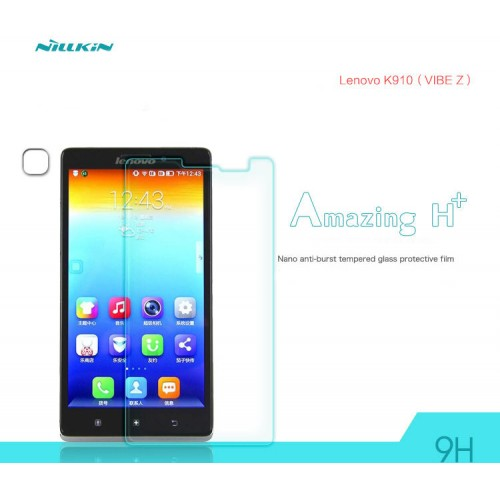 Ультратонкое износоустойчивое сколостойкое олеофобное защитное стекло-пленка для Lenovo Vibe Z K910
