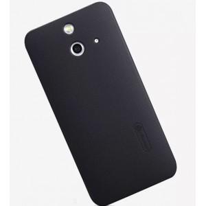 Пластиковый матовый нескользящий премиум чехол для HTC One E8