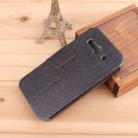 Чехол флип-подставка с магнитной застежкой для Alcatel One Touch Pop C9 Черный