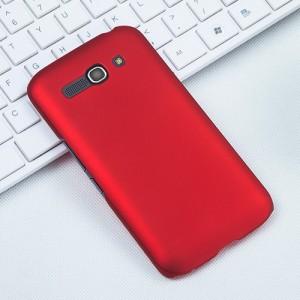 Пластиковый матовый чехол металлик для Alcatel One Touch Pop C9