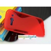 Силиконовый S чехол для Alcatel One Touch Pop C9 Красный