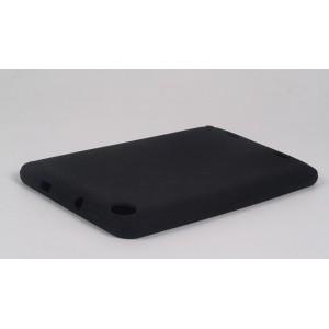 Силиконовый чехол софт-тач для планшета Lenovo IdeaTab A3000 Черный