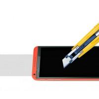 Ультратонкое износоустойчивое сколостойкое олеофобное защитное стекло-пленка для HTC Desire 610