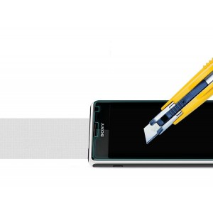 Ультратонкое износоустойчивое сколостойкое олеофобное защитное стекло-пленка для Sony Xperia E1