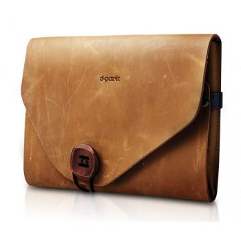 Многофункциональный кожаный чехол папка ручной работы для планшета Ipad Mini 3