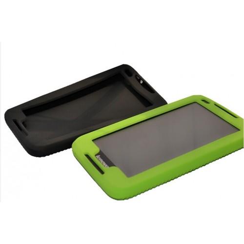 Силиконовый усиленный чехол для планшета Lenovo IdeaTab A3000 Зеленый