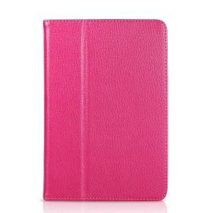 Чехол подставка с рамочной защитой серия Full Cover для Ipad Mini 3 Пурпурный