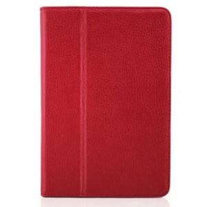 Чехол подставка с рамочной защитой серия Full Cover для Ipad Mini 3 Красный