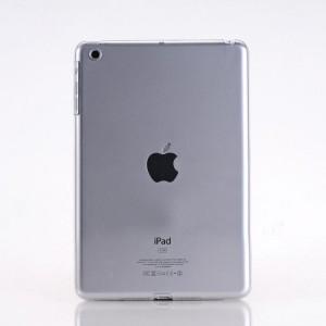 Пластиковый матовый полупрозрачный чехол для Ipad Mini 3 Белый