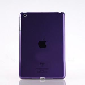 Пластиковый матовый полупрозрачный чехол для Ipad Mini 3 Фиолетовый