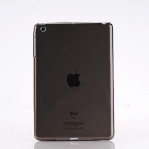 Пластиковый матовый полупрозрачный чехол для Ipad Mini 3 Черный
