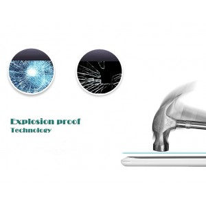 Ультратонкое износоустойчивое сколостойкое олеофобное защитное стекло-пленка для Lenovo S920
