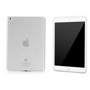 Силиконовый матовый полупрозрачный чехол для Ipad Air 2 Белый