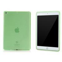 Силиконовый матовый полупрозрачный чехол для Ipad Air 2 Зеленый