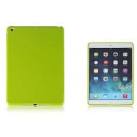 Силиконовый матовый непрозрачный чехол для Ipad Air 2 Зеленый