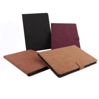 Чехол подставка винтажный с магнитной застежкой и на матовой пластиковой основе для Ipad Air 2