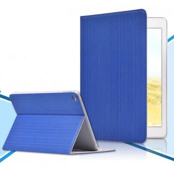 Тонкий 13 мм чехол смарт подставка текстурный Вертикаль на пластиковой основе для Ipad Air 2