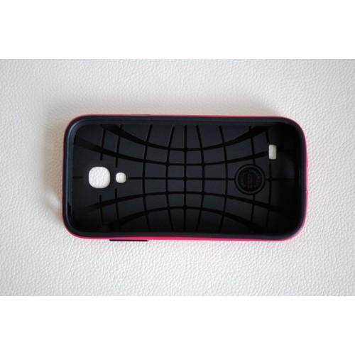 Двухкомпонентный премиум поликарбонат-пластик чехол для Samsung Galaxy S4 Mini