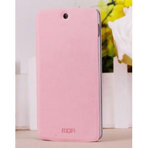 Чехол флип подставка водоотталкивающий для Google Nexus 5 Розовый