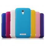 Пластиковый матовый металлик чехол для Alcatel One Touch Pop S7