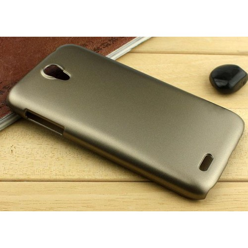 Пластиковый металлик чехол для Lenovo A859 Ideaphone