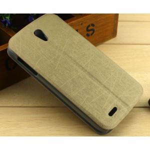 Текстурный чехол флип подставка на присоске для Lenovo A859 Ideaphone