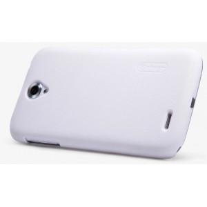 Пластиковый матовый нескользящий премиум чехол для Lenovo A859 Ideaphone