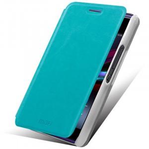 Чехол флип водоотталкивающий для Sony Xperia E1 Голубой