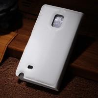 Чехол портмоне подставка для Samsung Galaxy Note Edge Белый