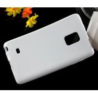 Силиконовый матовый чехол для Samsung Galaxy Note Edge Белый