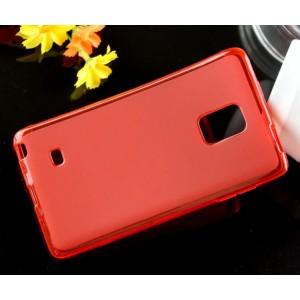 Силиконовый матовый чехол для Samsung Galaxy Note Edge Красный