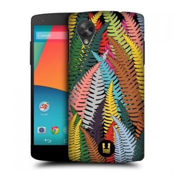 Пластиковый матовый дизайнерский чехол с принтом Jungle Mania для Google LG Nexus 5