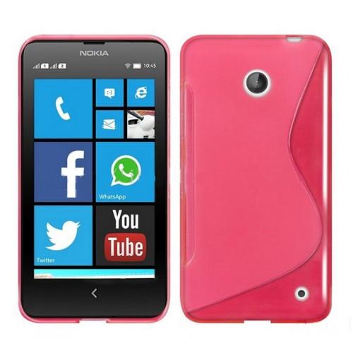 Силиконовый S чехол для Nokia Lumia 630