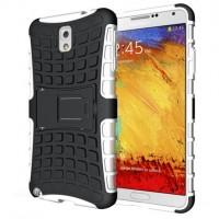 Силиконовый чехол экстрим защита для Samsung Galaxy Note 3 Белый