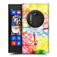 Пластиковый износостойкий матовый дизайнерский чехол с принтом Dream Pattern для Nokia Lumia 1020
