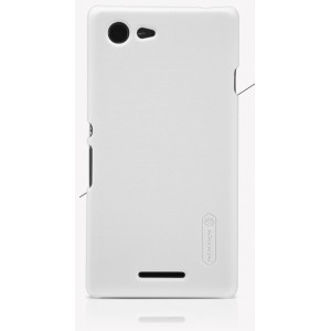 Пластиковый матовый нескользящий премиум чехол для Sony Xperia E3