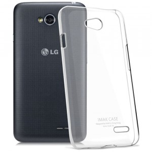Транспарентный пластиковый чехол для LG L90