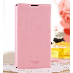 Чехол флип-водоотталкивающий для Nokia X / X+ Розовый