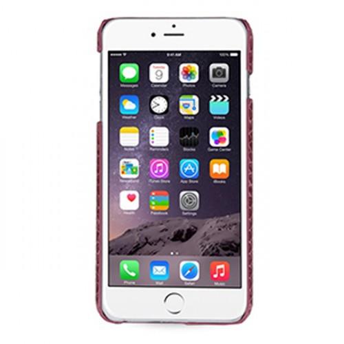 Кожаный чехол накладка (нат. кожа рептилии) для Iphone 6