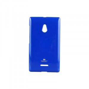 Силиконовый чехол серии Mercury для Nokia XL Синий