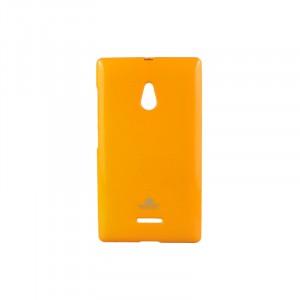 Силиконовый чехол серии Mercury для Nokia XL Оранжевый