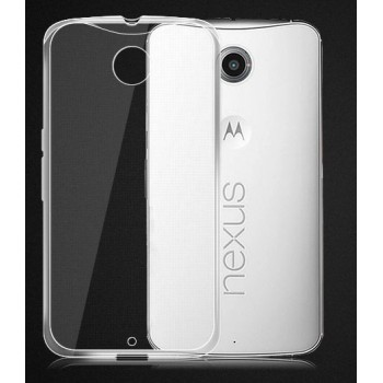 Ультратонкий пластиковый транспарентный чехол для Google Nexus 6