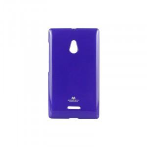 Силиконовый чехол серии Mercury для Nokia XL Фиолетовый