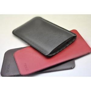 Кожаный мешок для Google Nexus 6 Черный