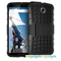 Силиконовый чехол экстрим защита для Google Nexus 6 Черный