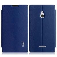 Чехол флип-подставка серии IMAK для Nokia XL Синий
