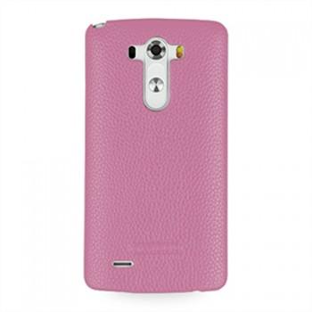 Кожаный чехол накладка (нат. кожа) для LG G3