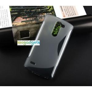 Силиконовый S чехол для LG G3 Stylus Черный
