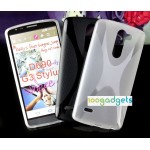 Силиконовый X чехол для LG G3 Stylus